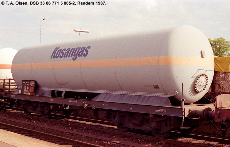 Kosan Tankers A/S - DSB 33 86 771 5 065 - 2