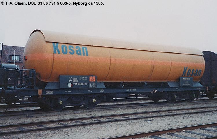 Kosan Tankers A/S - DSB 33 86 791 5 063 - 5