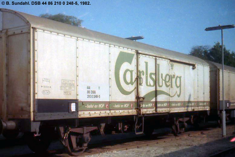Carlsberg Bryggerierne - DSB 44 86 210 0 248 - 5