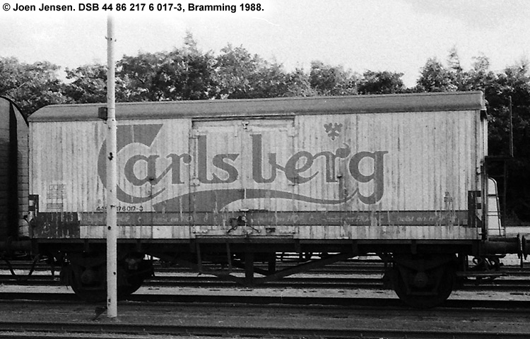 Carlsberg Bryggerierne - DSB 44 86 217 6 017 - 3