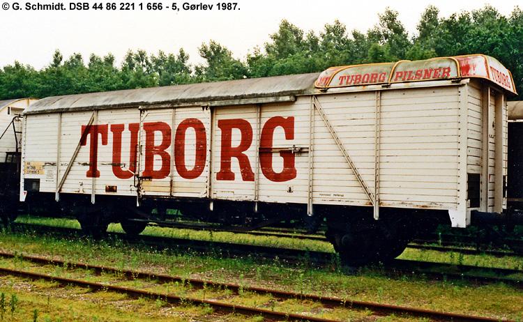 Tuborg Bryggerierne A/S - DSB 44 86 221 1 656 - 5