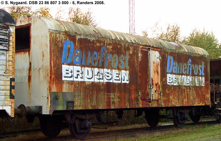 FDB - Fællesforeningen for Danmarks Brugsforeninger - DSB 23 86 807 3 000 - 5