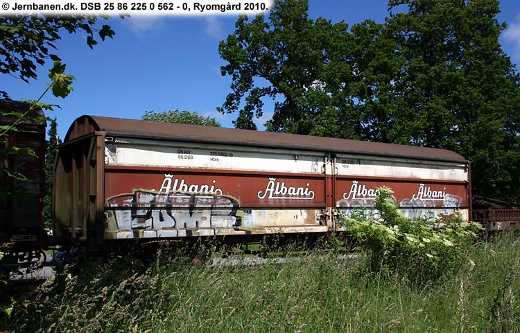 Albani Bryggerierne A/S - DSB 25 86 225 0 562 - 0