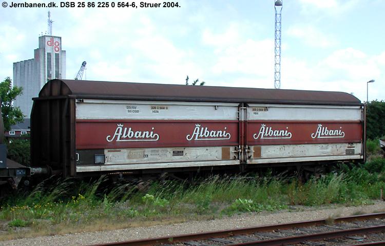 Albani Bryggerierne A/S - DSB 25 86 225 0 564 - 6