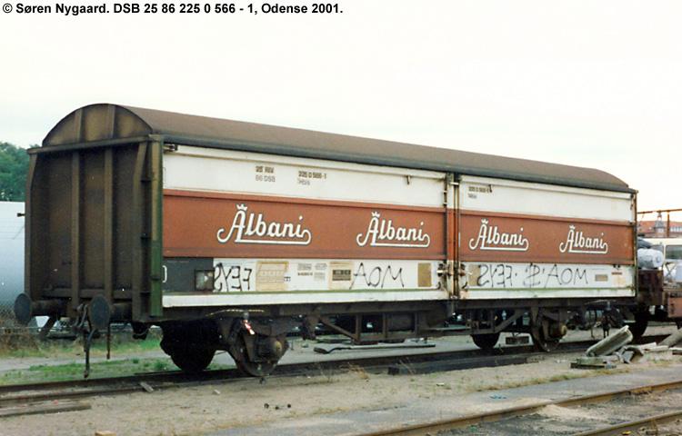 Albani Bryggerierne A/S - DSB 25 86 225 0 566 - 1