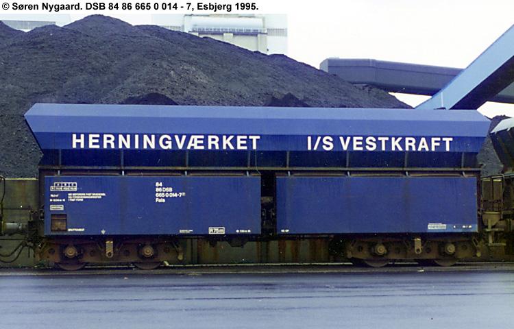 Vestkraft I/S - DSB 84 86 665 0 014 - 7