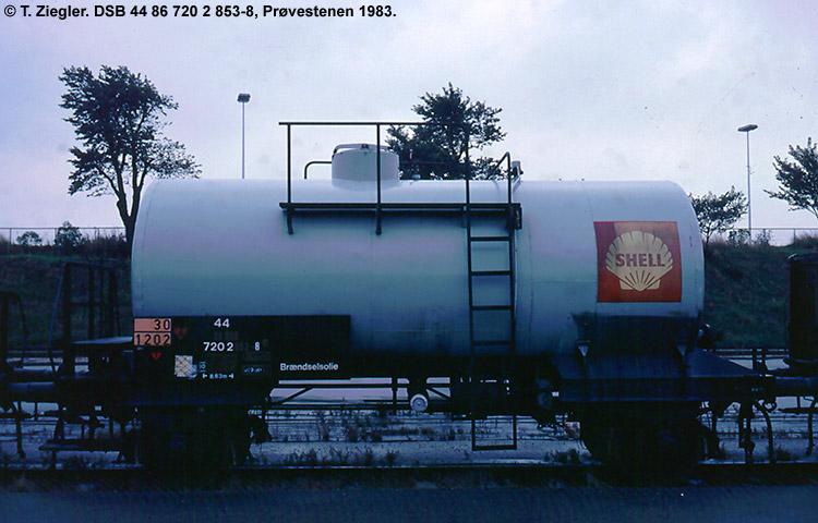 Dansk Shell A/S - DSB 44 86 720 2 853 - 8