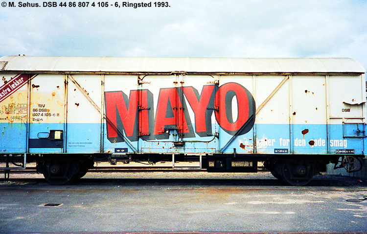 MAYO salater A/S - DSB 23 86 807 4 105 - 1