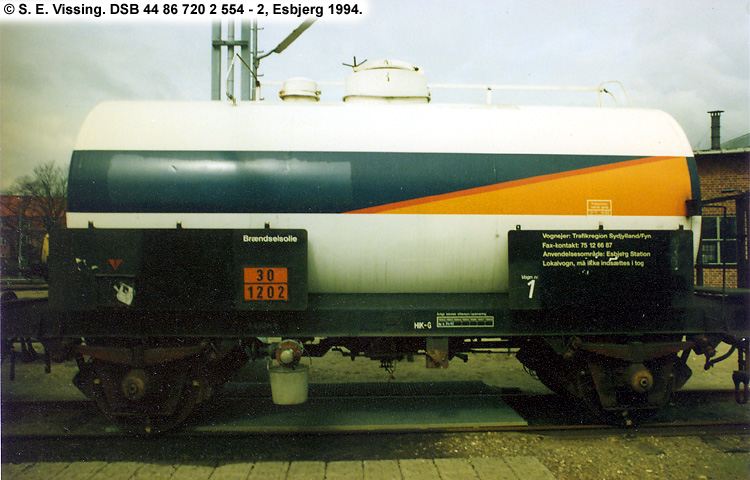 Dansk Statoil A/S - DSB 44 86 720 2 554 - 2