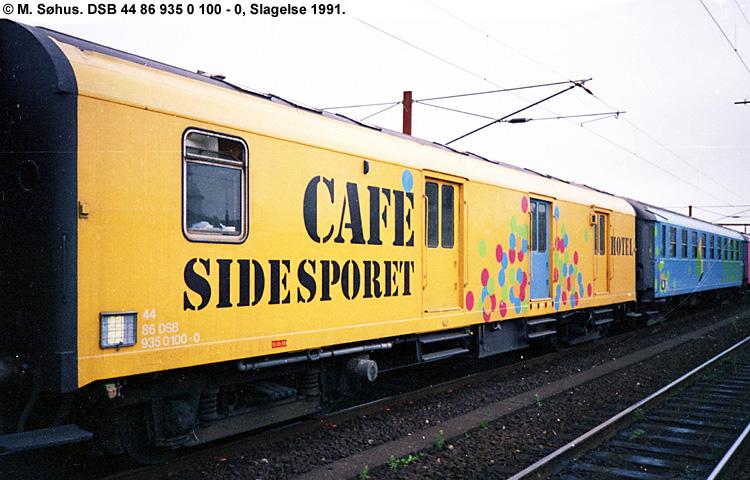 Foreningen Sidesporet - DSB 44 86 935 0 100 - 0