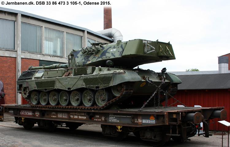 Hærens Operative Kommando - DSB 33 86 473 3 105 - 1