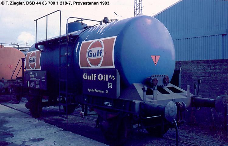 Gulf Oil A/S - DSB 44 86 700 1 218 - 7