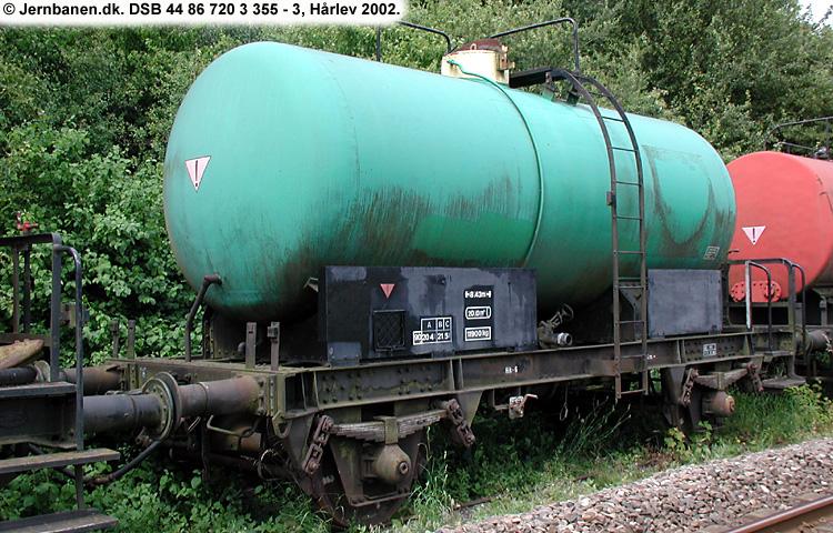 BP Olie-Kompagniet A/S - DSB 44 86 720 3 355 - 3