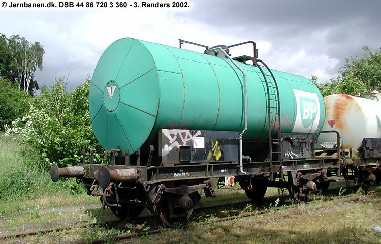 BP Olie-Kompagniet A/S - DSB 44 86 720 3 360 - 3