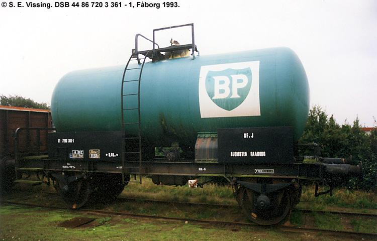BP Olie-Kompagniet A/S - DSB 44 86 720 3 361 - 1