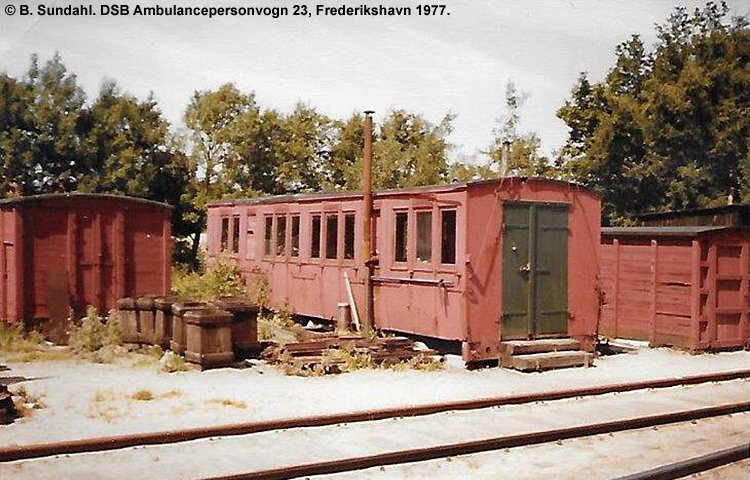 DSB Ambulancepersonvogn nr. 23