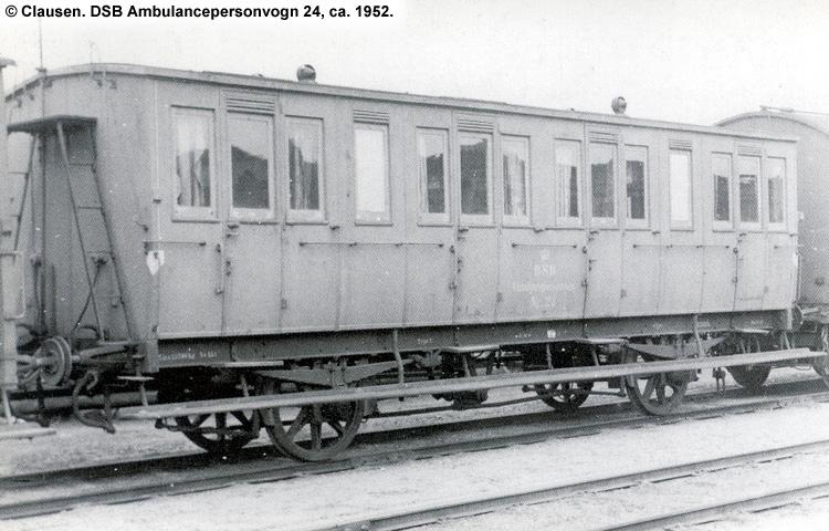 DSB Ambulancepersonvogn nr. 24