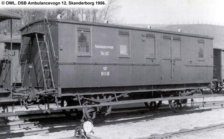 DSB Ambulancevogn nr. 12