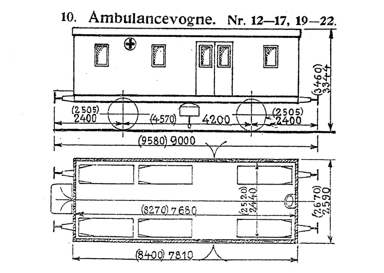 DSB Ambulancevogn nr. 16