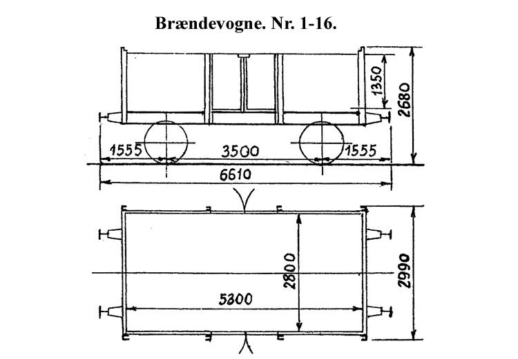 DSB Brændevogn nr. 13