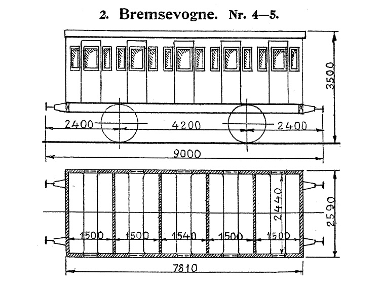 DSB Bremsevogn nr. 5