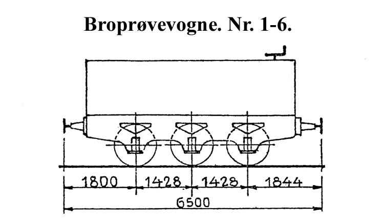 DSB Broprøvevogn nr. 1