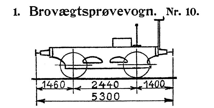 DSB Brovægtsprøvevogn nr. 10