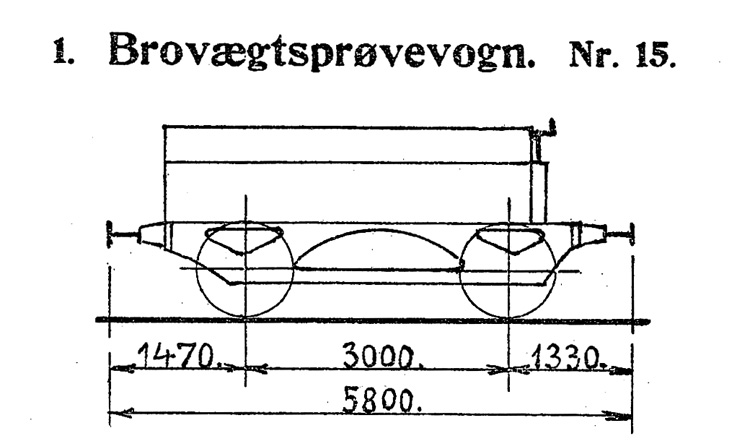 DSB Brovægtsprøvevogn nr. 15