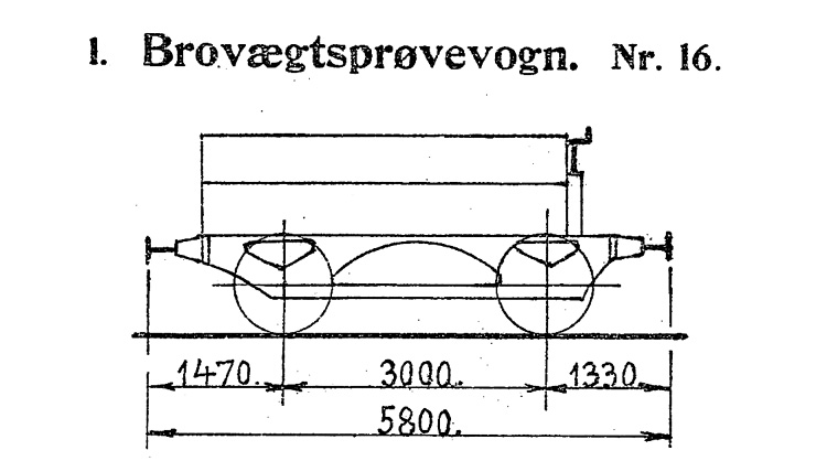 DSB Brovægtsprøvevogn nr. 16