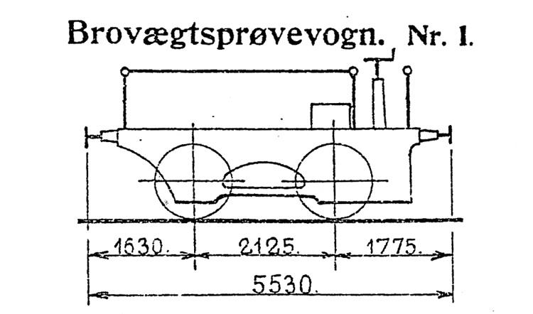 DSB Brovægtsprøvevogn nr. 1