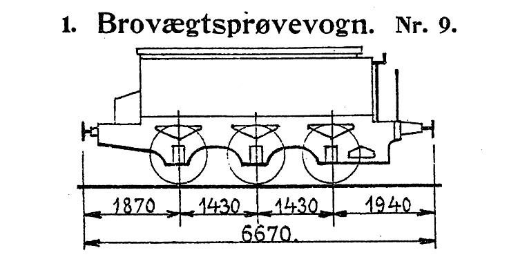 DSB Brovægtsprøvevogn nr. 9