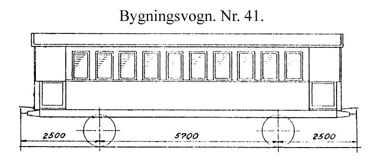 DSB Bygningsvogn nr. 41