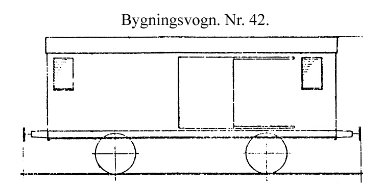 DSB Bygningsvogn nr. 42