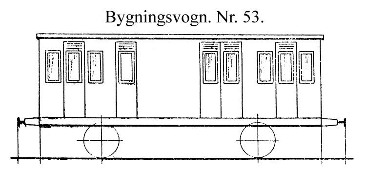 DSB Bygningsvogn nr. 53