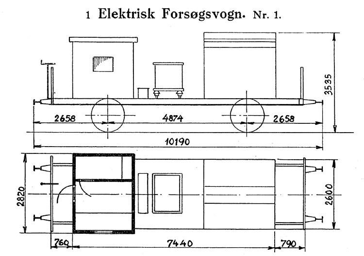 DSB Elektrisk Forsøgsvogn nr. 1