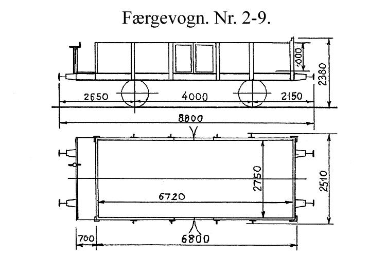 DSB Færgevogn nr. 8