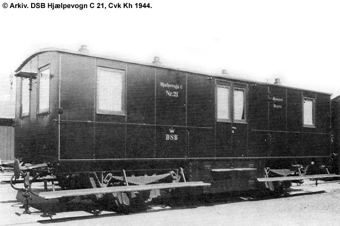 Hjælpevogn C 21