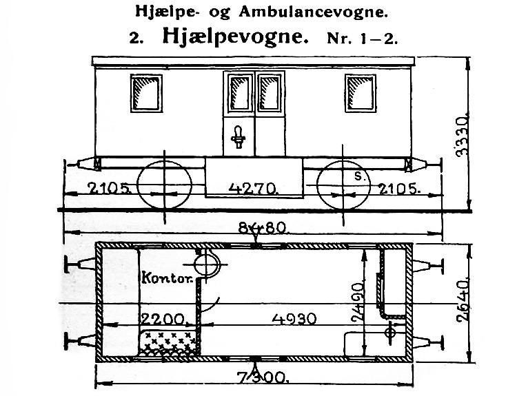 DSB Hjælpevogn nr. 2