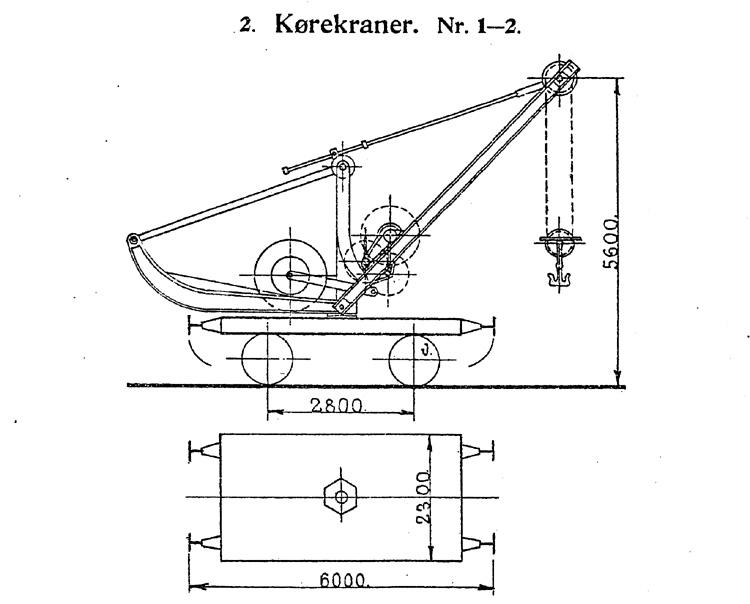 DSB Kørekran nr. 1