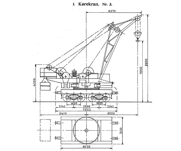 DSB Kørekran nr. 3