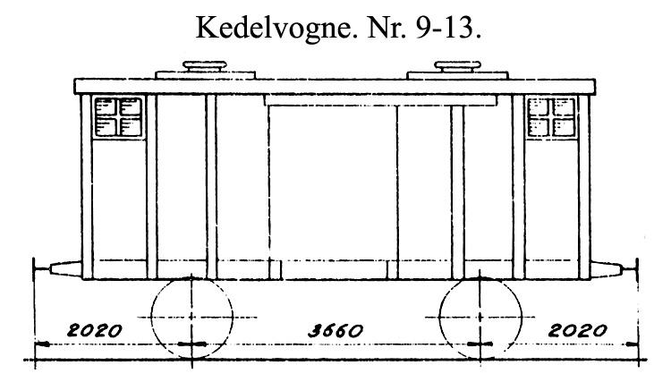 DSB Kedelvogn nr. 13