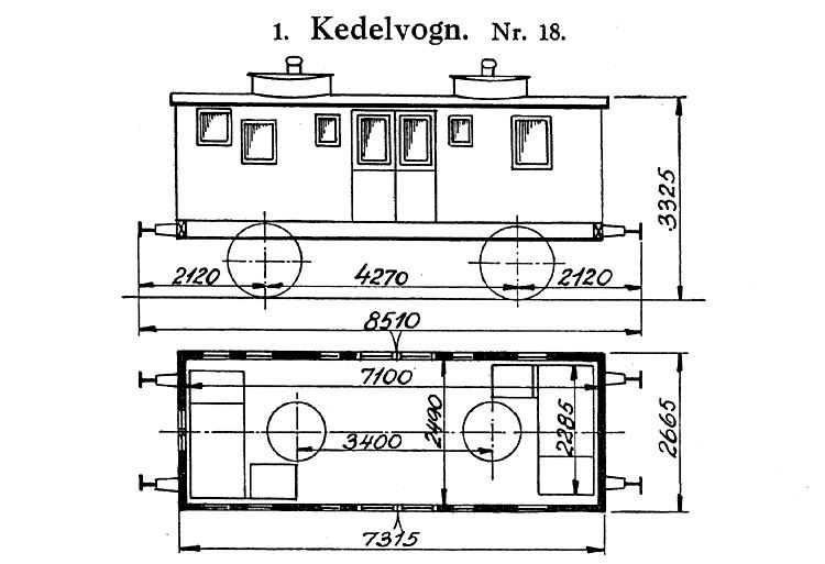 DSB Kedelvogn nr. 18