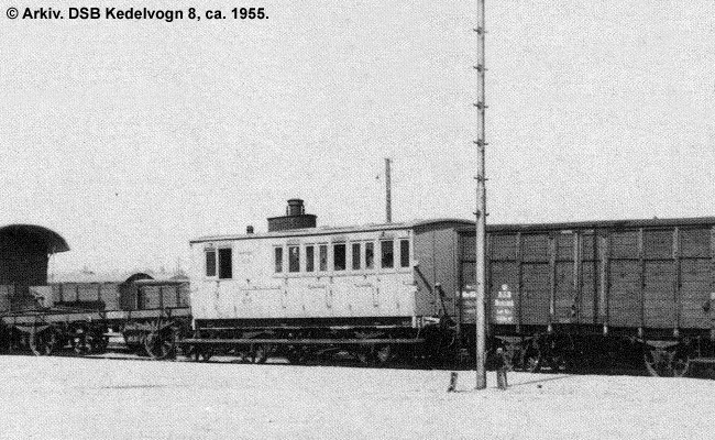 DSB Kedelvogn nr. 8
