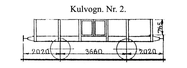 DSB Kulvogn nr. 2