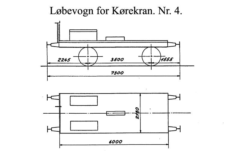 DSB Løbevogn for Kørekran nr. 4