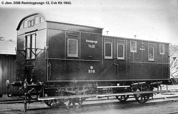 DSB Redningsvogn nr. 12