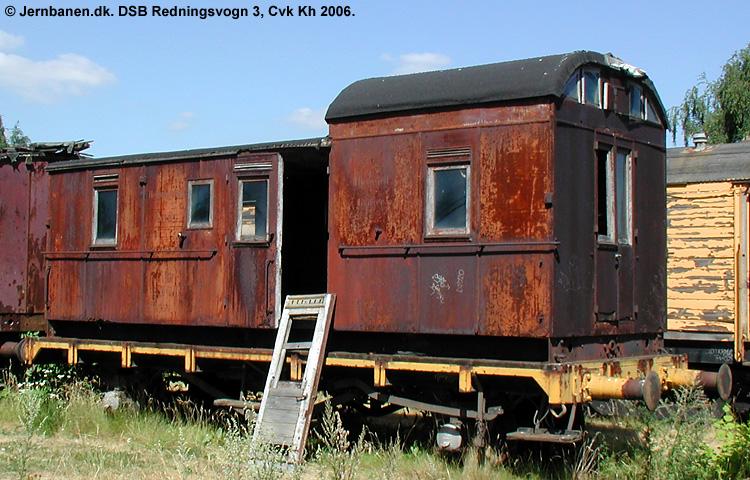 DSB Redningsvogn nr. 3
