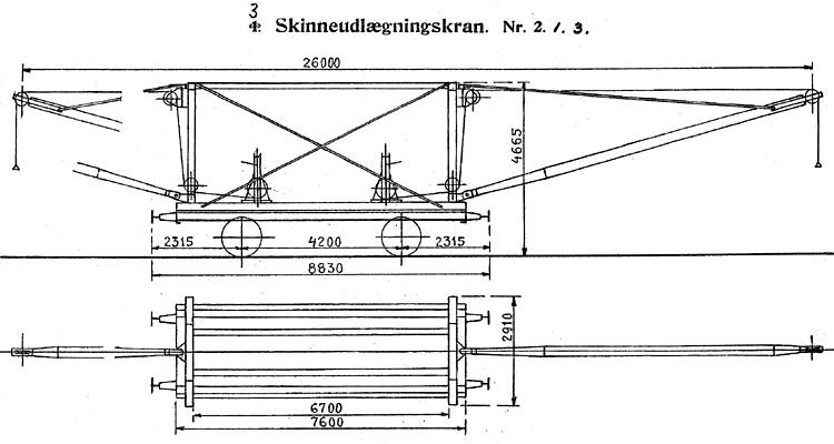 DSB Skinneudlægningskran nr. 3