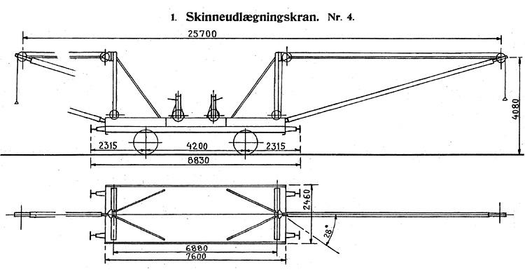 DSB Skinneudlægningskran nr. 4