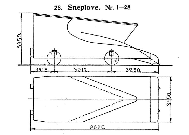 DSB Sneplov nr. 28